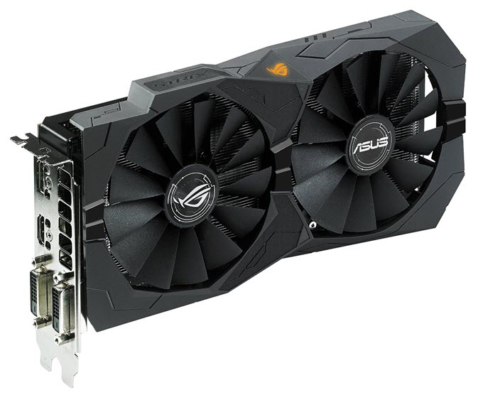 ASUS ROG STRIX Radeon RX 470 OC 4GB GDDR5