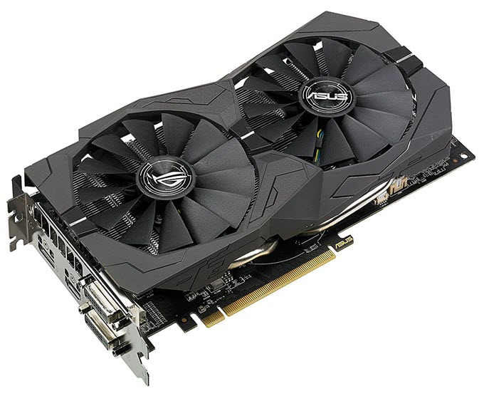 Asus ROG Strix RX 570 OC edition 4GB GDDR5