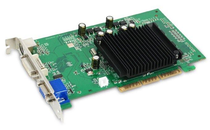 EVGA GeForce 6200 512 MB DDR2 AGP 8X Graphics Card