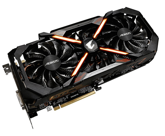 GeForce GTX 1080 AORUS xtreme edition 8G