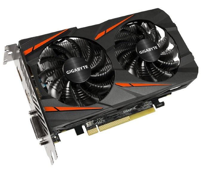 Gigabyte Radeon RX 460 Windforce OC 4GB GDDR5