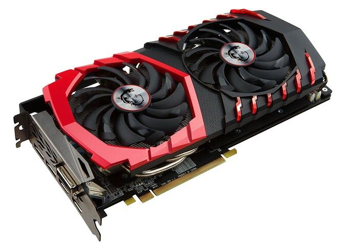 MSI GAMING Radeon RX 480 GDDR5 4GB