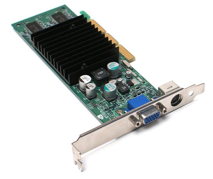 Nvidia GeForce4 MX 420 AGP Video Card