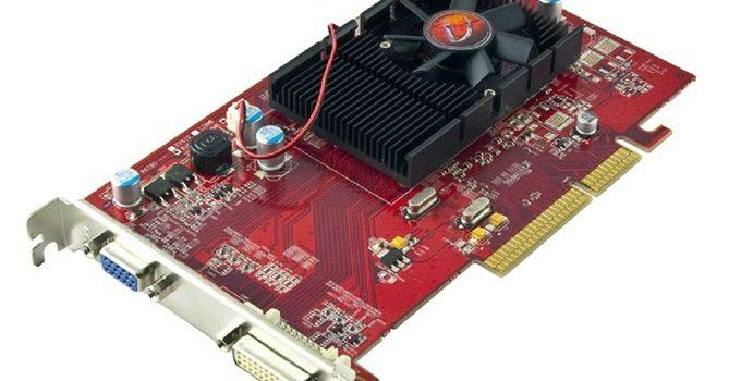 VisionTek Radeon 3450 512MB DDR2 AGP 8x Graphics Card
