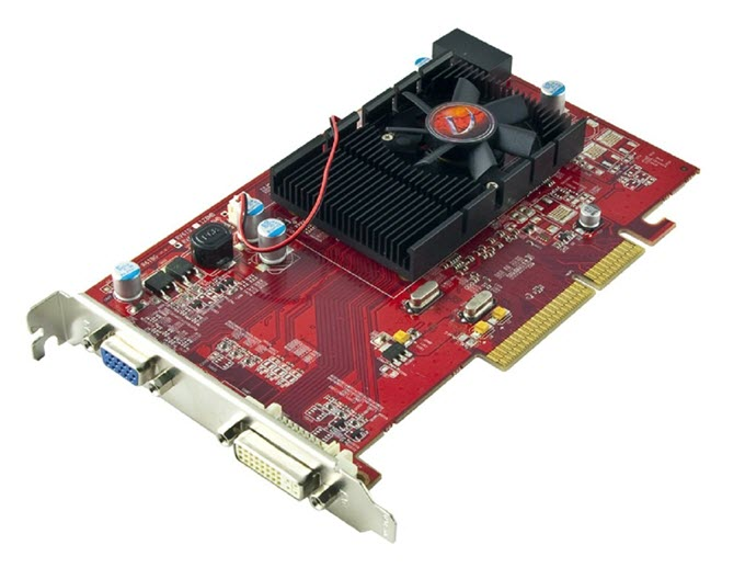 VisionTek-Radeon-3450-512MB-DDR2-AGP-8x-Graphics-Card