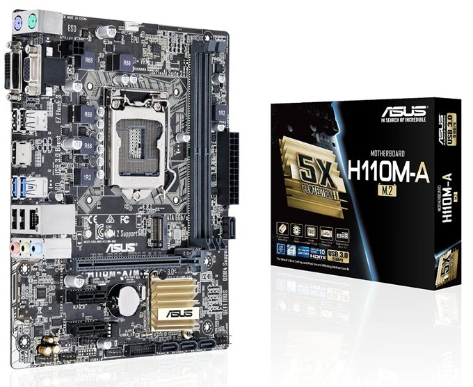 ASUS H110M-A - M.2 Motherboard