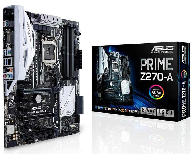 ASUS PRIME Z270-A Motherboard