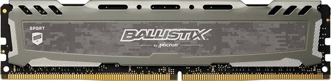 Ballistix Sport LT 8GB DDR4 RAM
