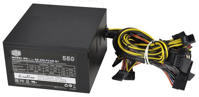 Cooler Master Elite V2 550W Power Supply 2