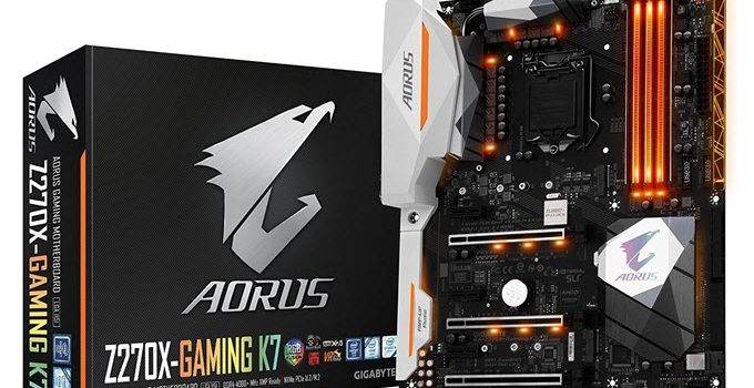 GIGABYTE AORUS GA-Z270X-Gaming K7 Motherboard