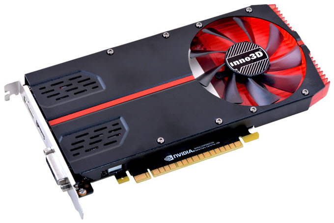 Inno3D GeForce GTX 1050 Ti Single Slot