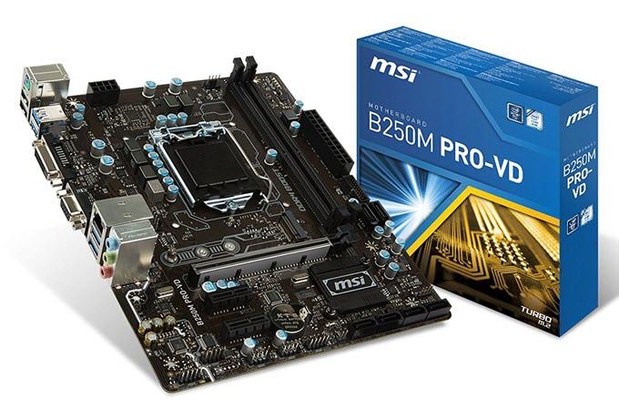 MSI B250M PRO-VD Motherboard