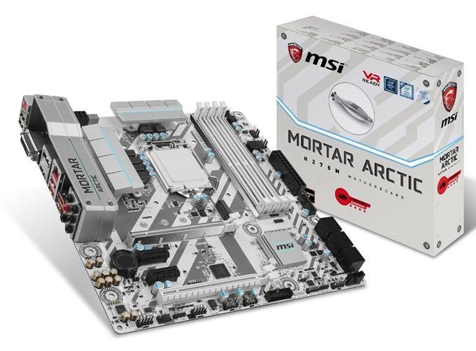 MSI H270M MORTAR ARCTIC Motherboard