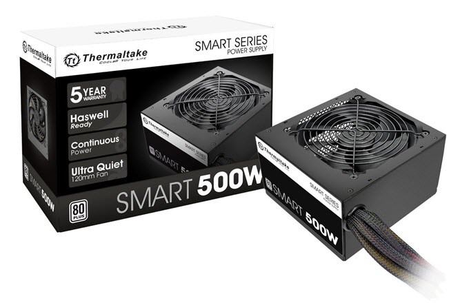 Thermaltake SMART 500W Power Supply