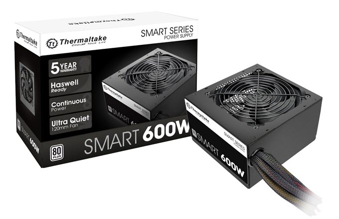 Thermaltake Smart 600W Power Supply
