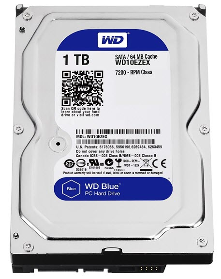 WD Blue 1TB SATA HDD