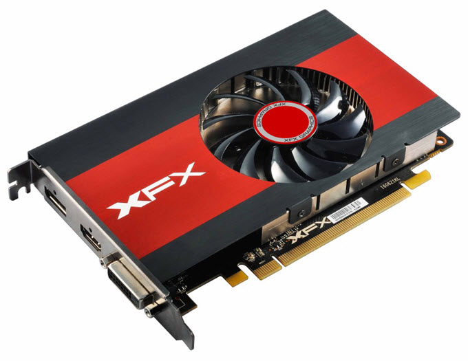 XFX Radeon RX 560 4GB Single Slot