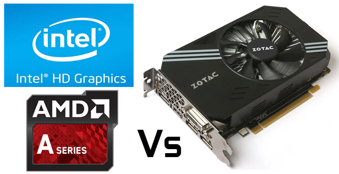 Graphics Card vs Integrated Graphics Comparison