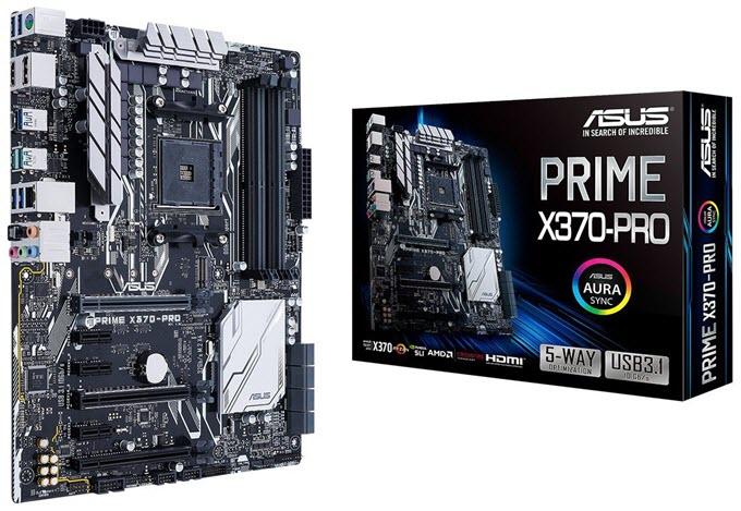 AMD PRIME X370-PRO Motherboard