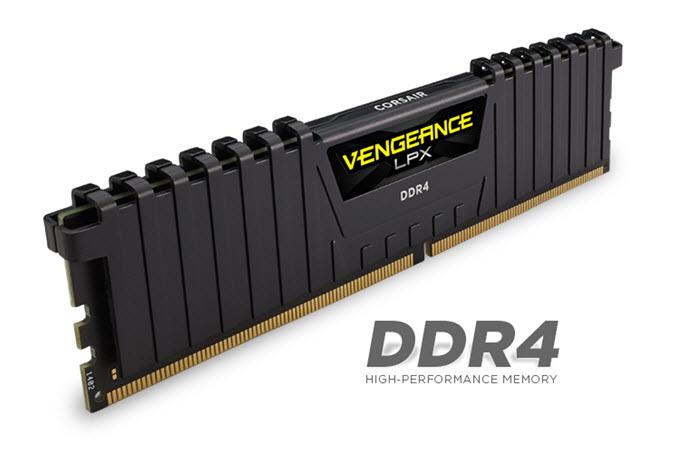 Corsair Vengeance LPX 32GB (2x16GB) DDR4 DRAM 3200MHz C16 Memory Kit
