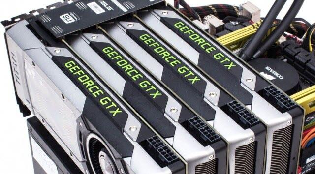 multi-GPU-SLI-setup