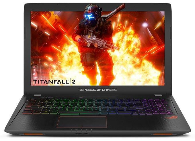 ASUS ROG STRIX GL553VE Gaming Laptop