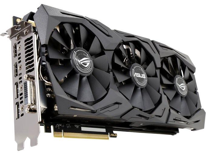 ASUS ROG Strix GeForce GTX 1080 Ti OC edition