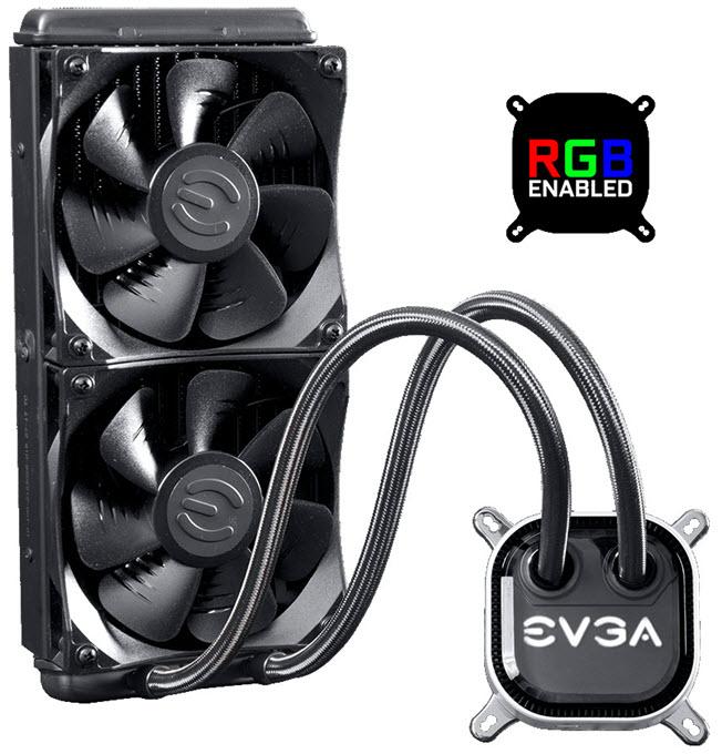 EVGA-CLC-240-Liquid-Water-CPU-Cooler-RGB-LED