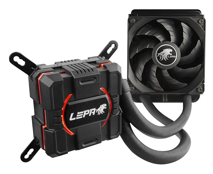 LEPA AquaChanger 120mm Liquid CPU Cooler