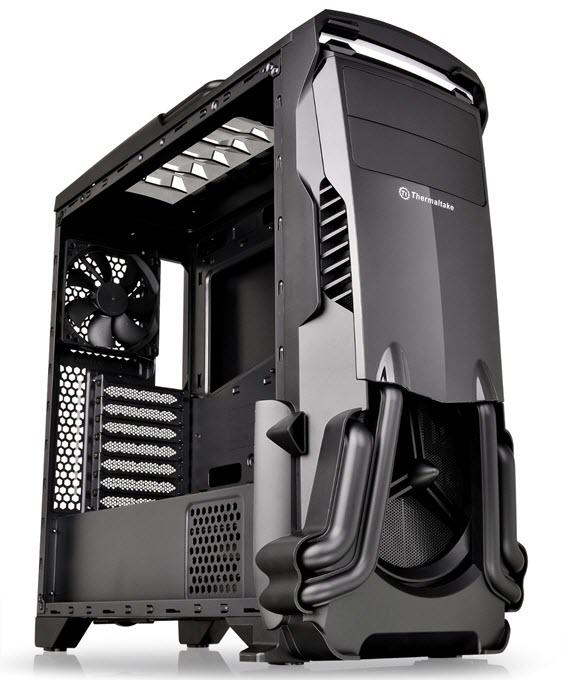 Thermaltake Versa N24 Black ATX Mid Tower Gaming Computer Case