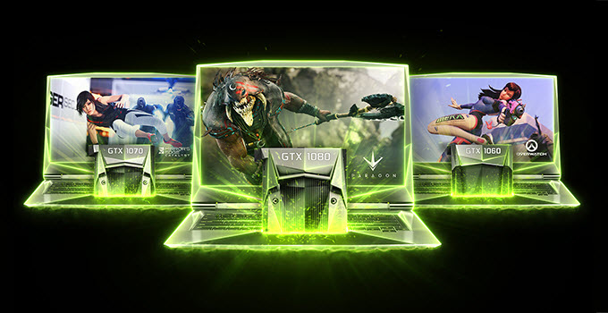 Best Gaming Laptops with GeForce 10 Pascal Graphics Cards