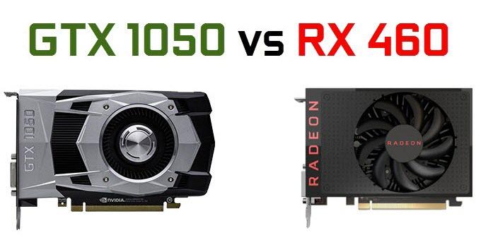 gtx-1050 vs rx-460