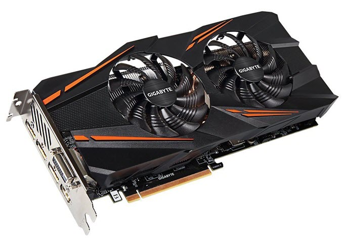 Gigabyte GeForce GTX 1070 WINDFORCE OC 8G