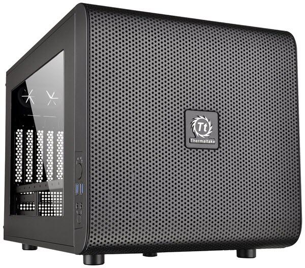 Thermaltake-CORE-V21-Black-Extreme-Micro-ATX-Cube-Case