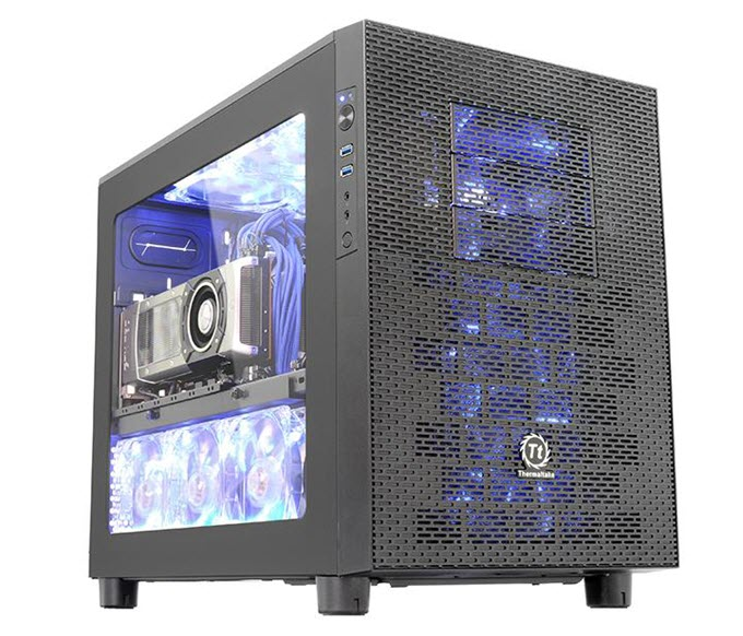 Thermaltake-Core-X2-mATX-Cube-Case