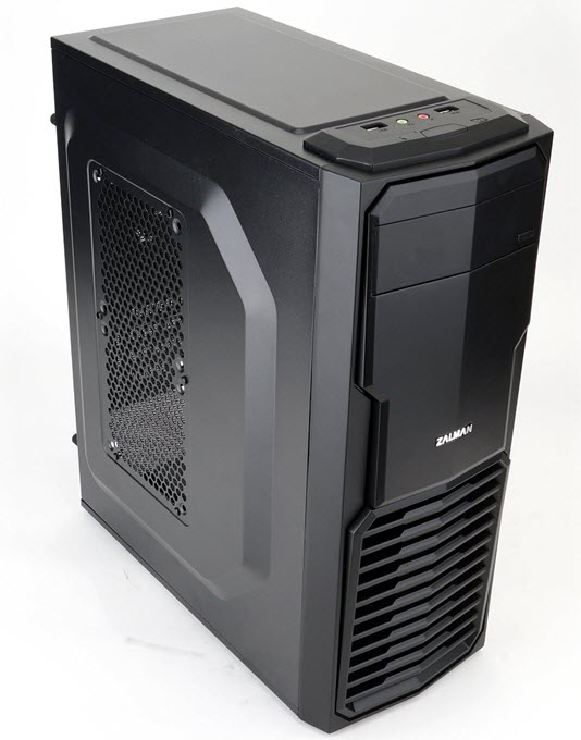 Zalman ZM-T4 Mini-Tower Micro-ATX Case