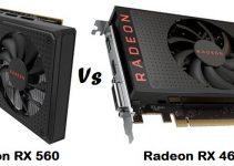 Radeon RX 560 vs RX 460 Graphics Cards Comparison
