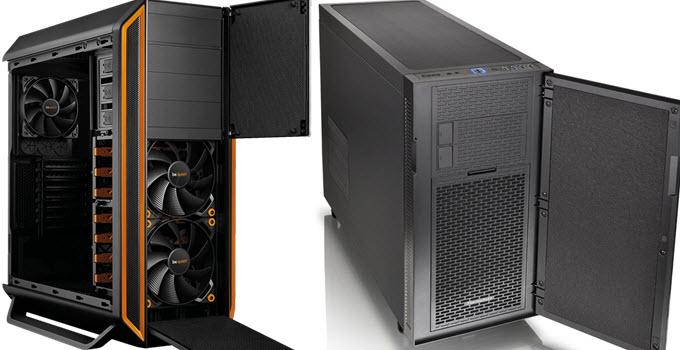best silent pc case to build quiet pc for gaming htpc work in 2018. Black Bedroom Furniture Sets. Home Design Ideas
