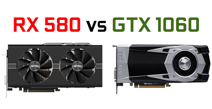 Radeon RX 580 vs GeForce GTX 1060 Graphics Cards Comparison