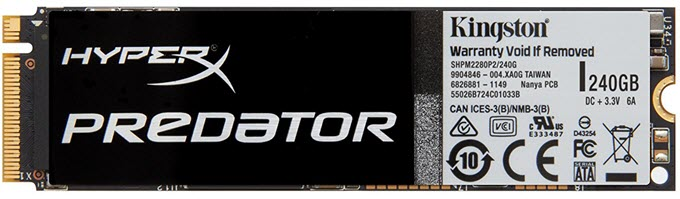Kingston-HyperX-Predator-PCIe-SSD-240GB