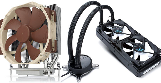 Best LGA 2066 and TR4 CPU Coolers in 2019 [Air & Liquid]