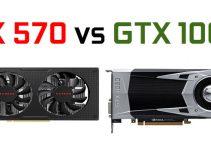 RX 570 vs GTX 1060 Graphics Cards Comparison