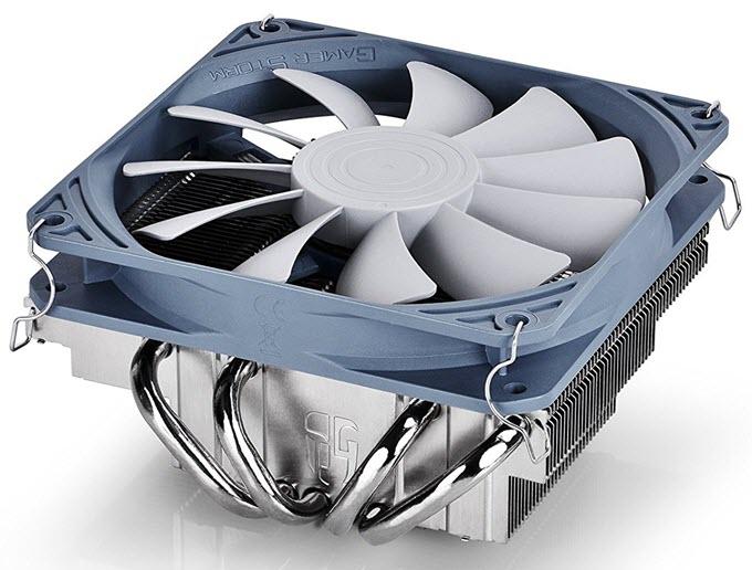 Deepcool-GABRIEL-Low-Profile-CPU-Cooler