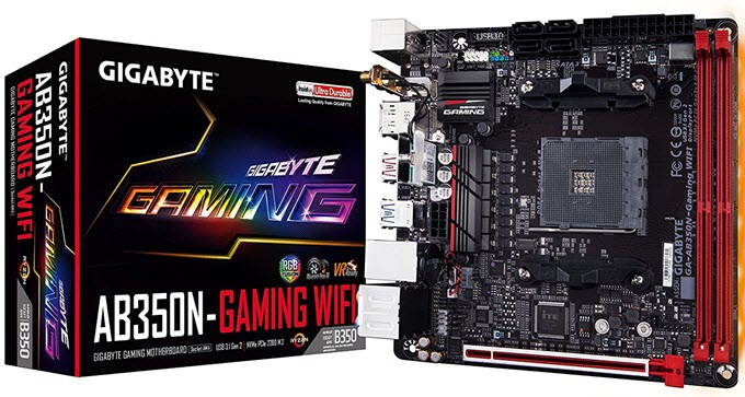 Gigabyte-GA-AB350N-Gaming-WIFI-Mini-ITX-Motherboard