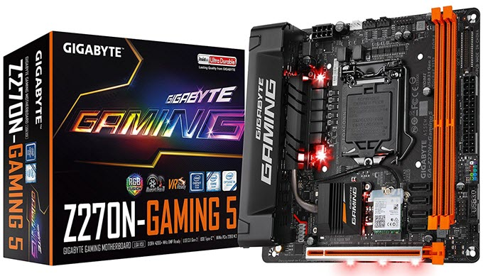 Gigabyte-GA-Z270N-Gaming-5-Mini-ITX-Motherboard