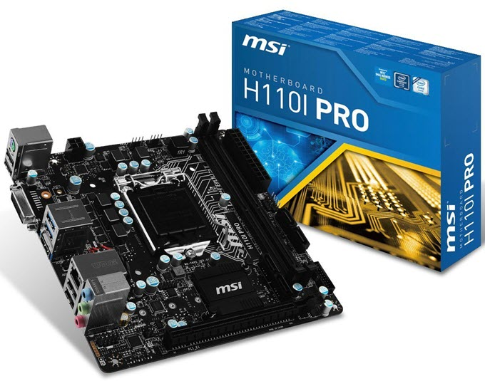 MSI-H110I-PRO-Mini-ITX-Motherboard