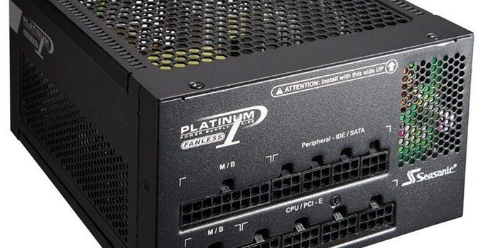 Best Fanless PSU for Building Silent PC for Work, Gaming & HTPC