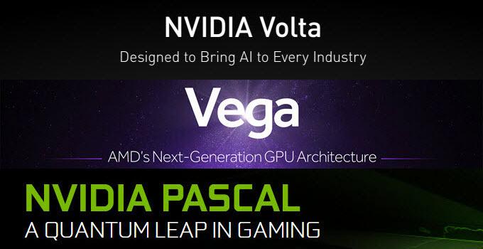 Volta vs Vega vs Pascal GPU Architecture Comparison