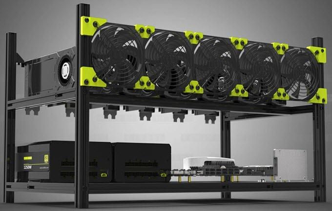 Kalolary-6-GPU-Mining-Aluminum-Case-Rig-Open-Air-Frame
