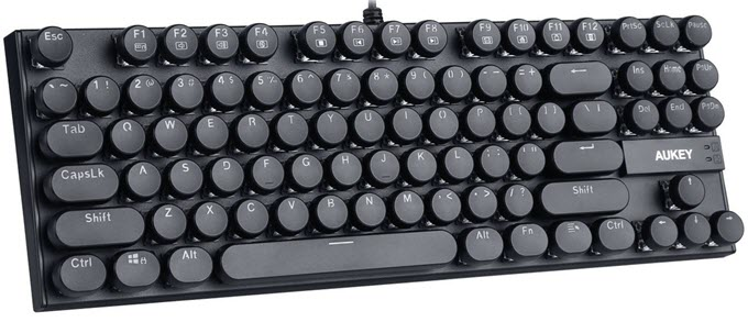 AUKEY-KM-G11-Typewriter-Retro-Style-Mechanical-Keyboard